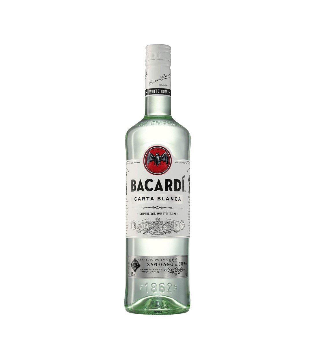 Bacardi Carta Blanca 1L