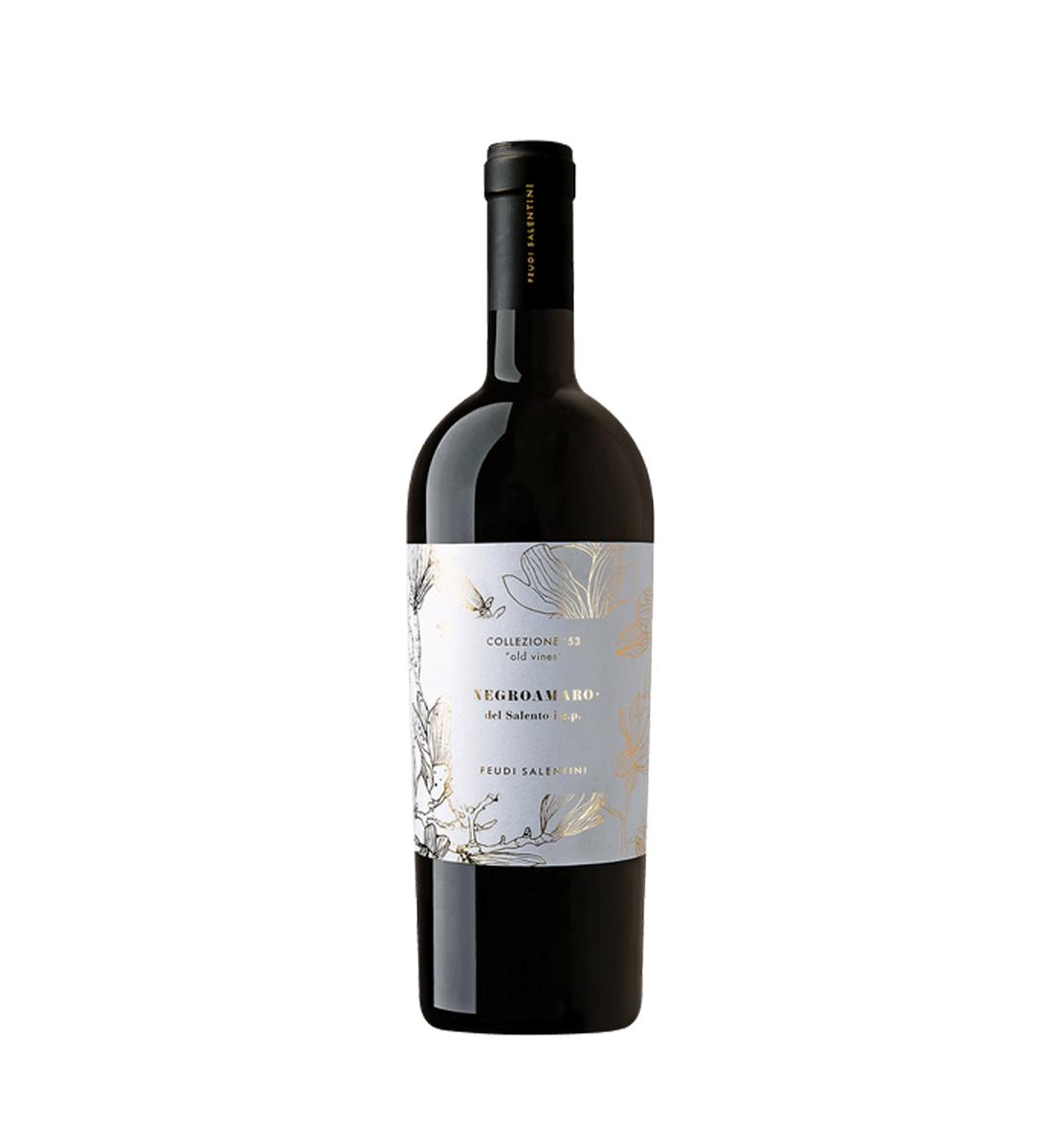 Feudi Salentini Collezione 53 Old Vines Negroamaro del Salento I.G.P. 0.75L